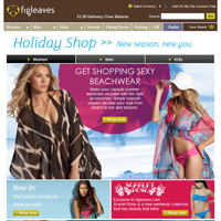 figleaves.com Holiday Shop